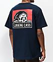 Lurking Class by Sketchy Tank Corpo Navy T-Shirt