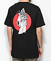 Lurking Class by Sketchy Tank Geisha camiseta negra