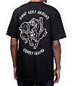 Lurking Class by Sketchy Tank Karma camiseta negra