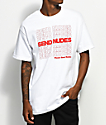 Made In Paradise Send Nudes White T-Shirt