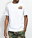 Made In Paradise Stash Pocket White T-Shirt