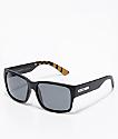 Madson Classico Black Flag & Grey Polarized Sunglasses