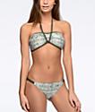 Malibu Gypsy Garden Olive Hipster Bikini Bottom