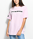 Married To The Mob Feminist Pink T-Shirt