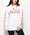 Married To The Mob x Penthouse Dancer White Long Sleeve T-Shirt