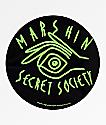 Marshin Secret Society Sticker