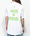 Marshin Secret Society camiseta blanca