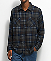 Matix Sycamore Charcoal & Navy Flannel Shirt