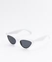 Mckenna gafas de sol blancas de ojo de gato