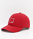 Meridian Skateboards M Squared Red Strapback Hat