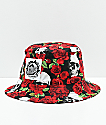 Milkcrate Skull & Roses Bucket Hat