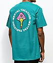 N°Hours Mental Vaycay camiseta en verde azulado