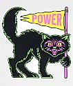 N°Hours Power Black Cat Sticker