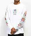 N°Hours Sleep White Long  Sleeve T-Shirt