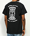 N°Hours The End Black T-Shirt