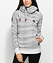 Naketano Murder He Wrote II Grey Striped Hoodie