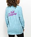 Neff Chomp Teal Marble Long Sleeve T-Shirt