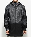 Neff Daily 10K chaqueta negra con lavado acido