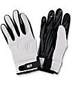 Neff Daily Pipe guantes de snowboard en blanco y negro