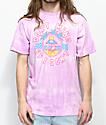 Neff Don't Mind camiseta con lavado morado