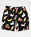 Neff Neon Tropics Black Board Shorts