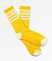 Neff Promo Amber & White Crew Socks