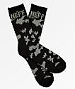 Neff Promo Black & Charcoal Crew Socks