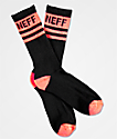 Neff Promo Infared Black Crew Socks