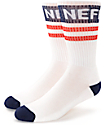 Neff Promo calcetines en azul, rojo y blanco