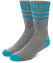 Neff Promo calcetines en gris y color menta