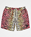 Neff Tiger Stripe Multicolor Board Shorts