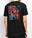 Neff x Marvel Dead Pool Big City Black T-Shirt