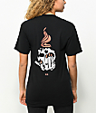 Never Made Skull Torch Black T-Shirt