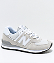 New Balance Lifestyle 574 Off-White & White Shoes
