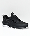 New Balance Lifestyle 574 Sport Black & White Shoes