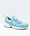 New Balance Lifestyle 574 Sport Blue Fog & Tidepool Shoes
