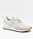 New Balance Lifestyle 574 Sport Moonbeam & White Shoes