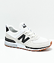 New Balance Lifestyle 574 Sport Nimbus Cloud & Black Shoes