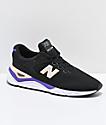 New Balance Lifestyle X-90 Black & Purple Shoes