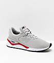 New Balance Lifestyle X90 Rain Cloud & Team Red Shoes