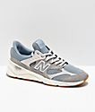 New Balance Lifestyle X90 Reconstructed Cyclone zapatos en azul y gris