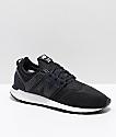New Balance Numeric 247 Black & White Mesh Shoes