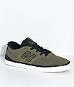 New Balance Numeric 358 Arto Military Green & Black Shoes