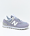 New Balance Numeric 574 Daybreak & Overcast Shoes