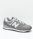 New Balance Numeric 574 Outdoor zapatos en gris y blanco