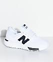 New Balance Numeric Boys 247 Classic Omni White & Grey Shoes