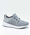New Balance Numeric Boys Fresh Foam Cruz Sport Grey & White Shoes