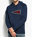 Nike Banner Icon Navy Hoodie