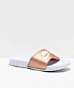 Nike Benassi Bronze Slide Sandals
