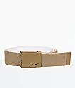 Nike Essentials Khaki Reverse Web Belt